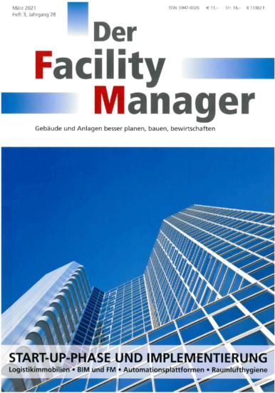"Presseschau: Unser BAScloud Connector in ""Der Facility Manager 3/2021"""
