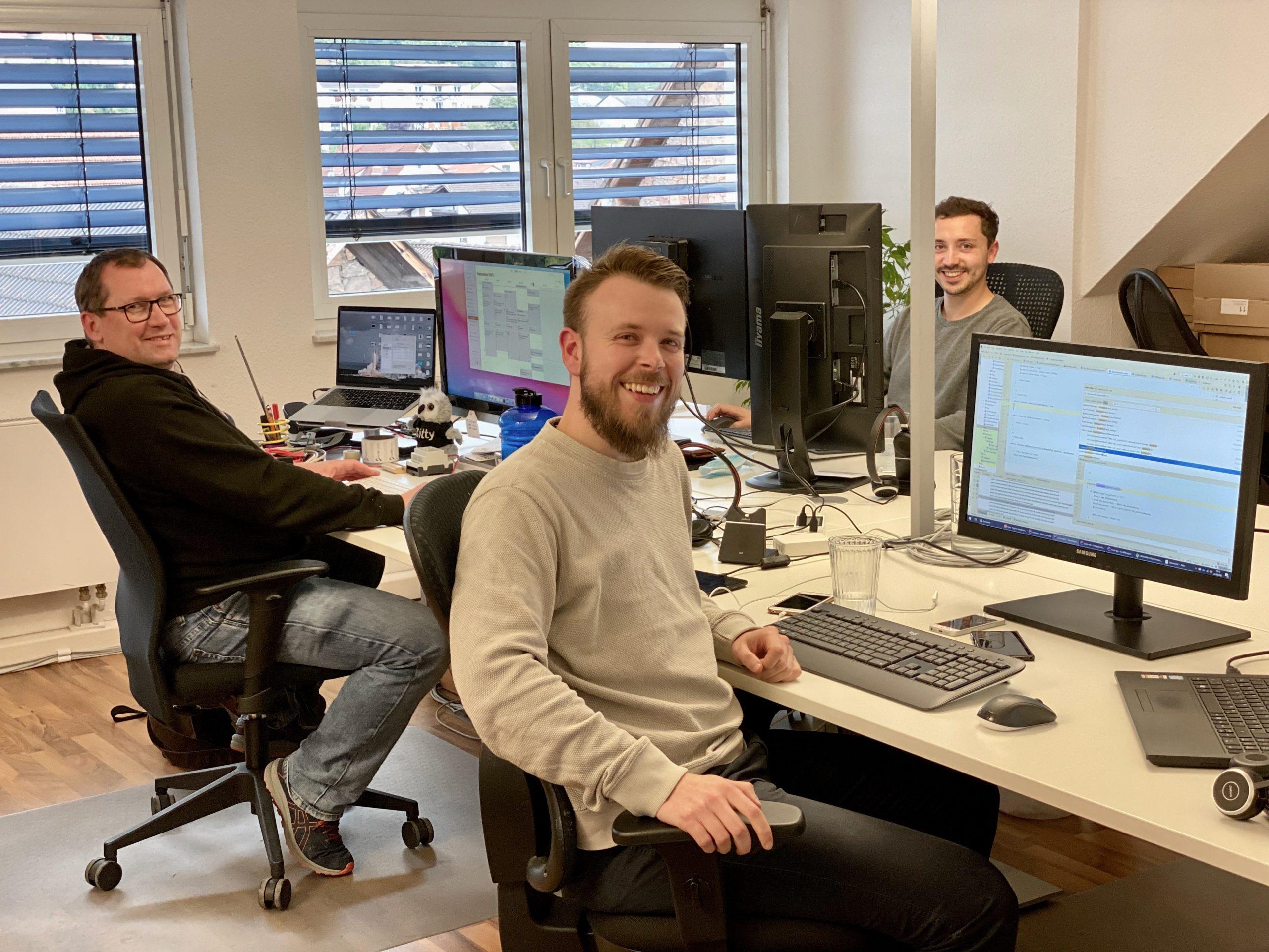 BAScloud Entwicklungsabteilung in neuen Räumlichkeiten
